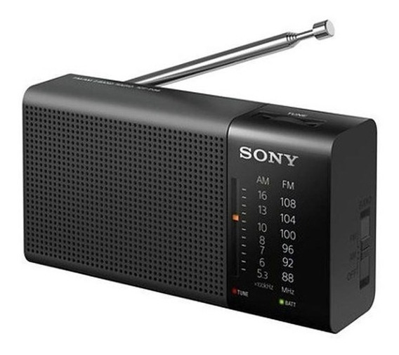 Radio Portátil Sony Icf-p36 Am/fm Preto - Original Lacrado