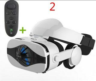 Óculos De Realidade Virtual Com Fone De Ouvido + 1 Controle