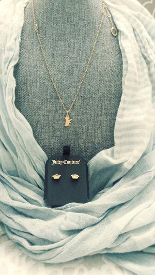 Collar Dorado Juicy Couture, Yorkie Dog 100% Original