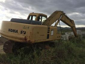 Escavadeira Komatsu Pc220 2000 - Precisa Reforma