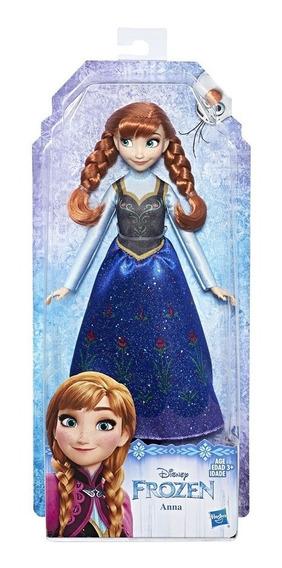 Boneca Disney Princesas Disney Frozen Anna 30 Cm Hasbro