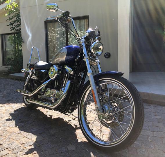 Harley Davidson Sportster 1200 Custom Solo 11 Mil Km Nueva!!