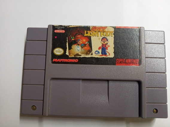 Ardy Ligth Foot (playtronic) Snes