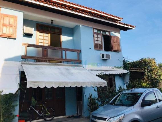 Casa Com 3 Dormitórios Para Alugar, 130 M² - Itaipu - Niterói/rj - Ca0102