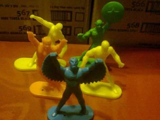 Muñecos S Heroes Marvel Gulliver Brasil Lote X 5 Retro Kxz