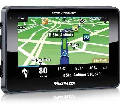 Gps Automotivo Lcd 4,3 Multilaser Tracker Gp011