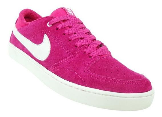 Nike Feminino Sb Mavrk 3 Couro Rosa