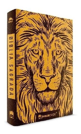Bíblia Leão Dourado | Nvi | Jesus Copy