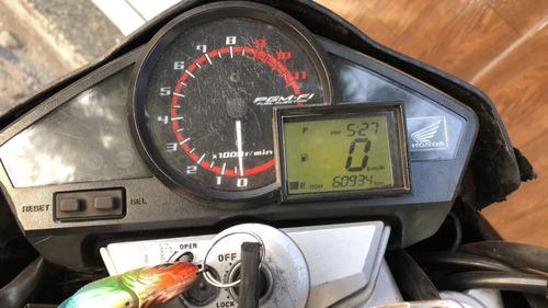 Imagem 1 de 4 de Moto Cb 300r Preta 2013