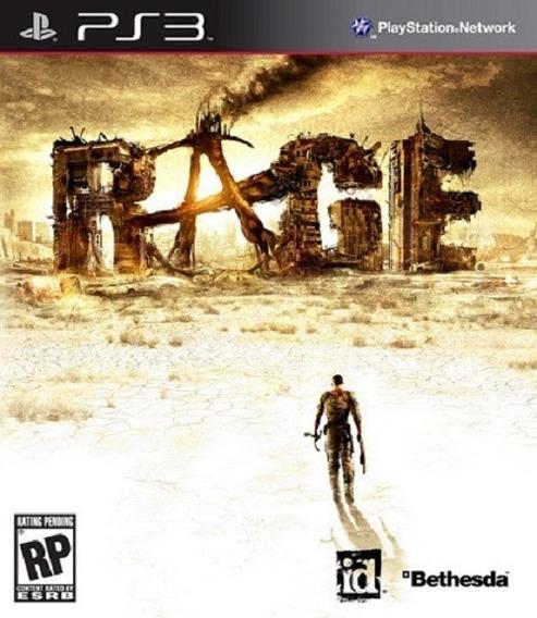 Jogo Rage Ps3 M. Fisica