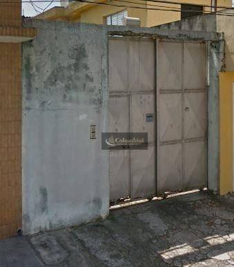 Terreno À Venda, 250 M² Por R$ 470.000 - Prosperidade - São Caetano Do Sul/sp - Te0036