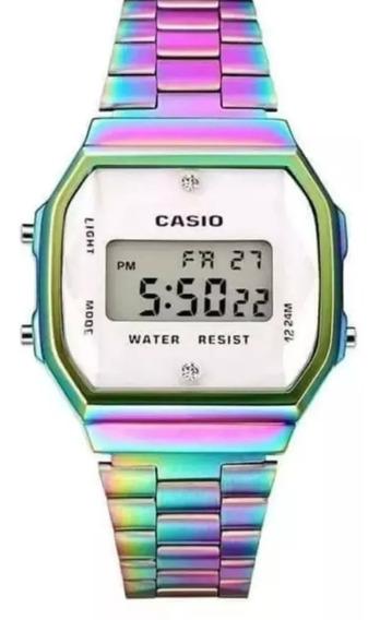 Reloj Casio Tornasol Dama Retro