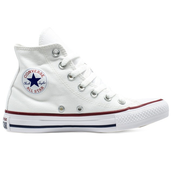 Tênis Converse Chuck Taylor All Star Hi Branco Original