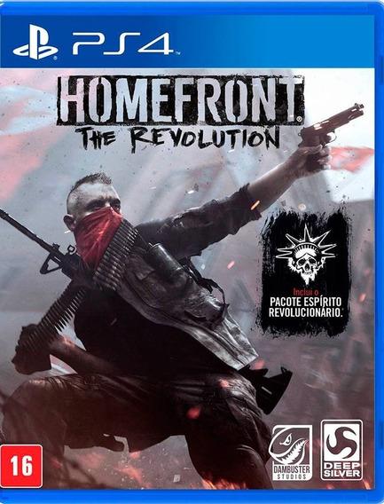Jogo Play4 Homefront The Revolution - Lacrado Game Ps4