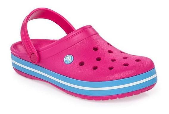 Crocs Crocband Adultos Candy Pink En La Plata