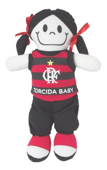 Boneca Flamengo Oficial