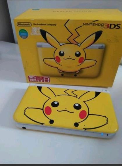 Nitendo 3dsxl Edição Especial Pokemon Desbloq Jogos 3ds 32gb