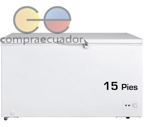 Midea Congelador Nevera Horizontal 15 Pies 418 Litros Nuevos
