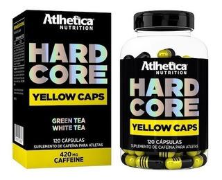 Termogênico Emagrecedor-hard Core Yellow - Atlhética 120caps