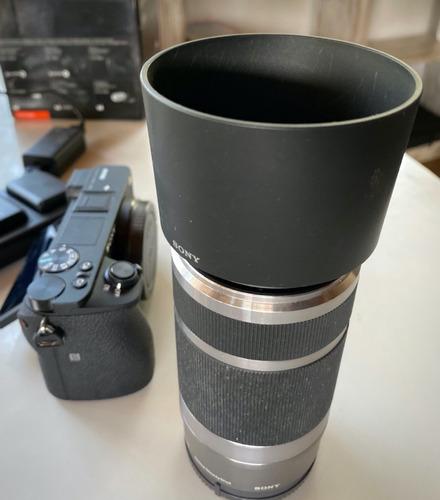 Tele Sony 55-210 Opticalsteadyshot Para Alpha 6000-6600