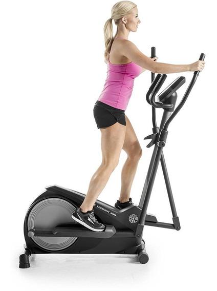 Elíptica Golds Gym Stride Trainer 380 Usuario 110 Kg