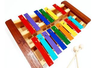 Metalofón - Glockenspiel Cromático De 15 Notas - Sol Venturi