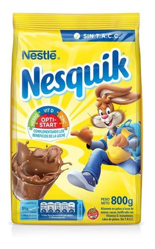 Nesquik Cacao En Polvo Bebida Chocolate Leche Chocolatada