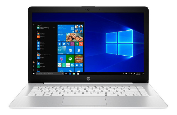 Notebook Hp Stream Intel Celeron 4gb Ram 64gb Win10 14´