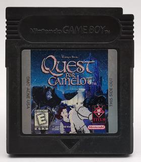 Quest For Camelot Gbc Original * R G Gallery