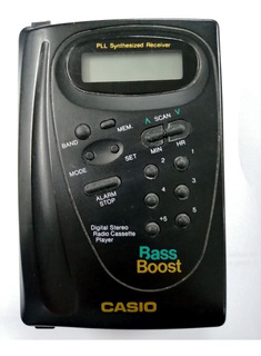 Personal Stereo Casio As600r Bass Boost Retro Vintage 80s