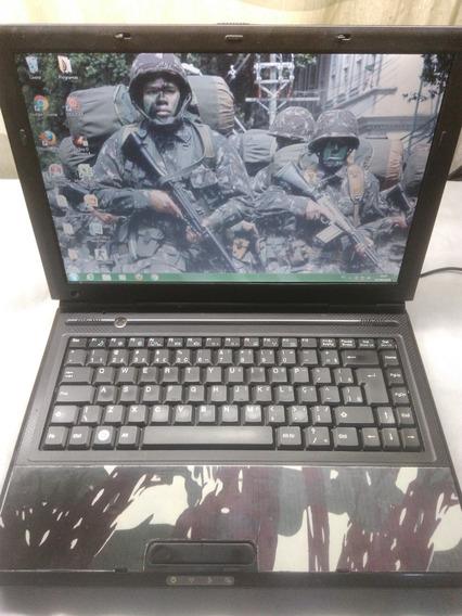 Notebook Cce Core2duo 1.8 1giga Hd80 Pronta Entrega Barato
