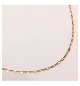Corrente Masculina De 70 Cm Luxo Esse Cordão Ouro 18k 750