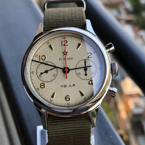 Relógio Seagull 1963 Cronógrafo Mecânico