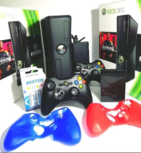 Xbox 360 Slim Personalizado 500g 98juegos Envío Gratis +obse