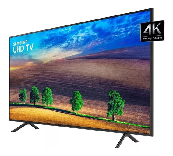 Smart Tv 58 Polegadas Samsung 58ru7100 Uhd 4k 3hdmi 2usb