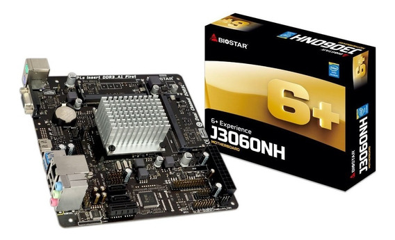 Tarjeta Madre Procesador Dual Core J3060nh J1800