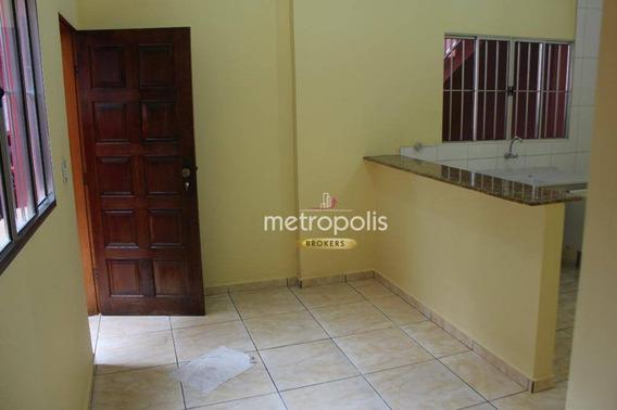 Casa Com 1 Dormitório Para Alugar, 50 M² Por R$ 1.100,00/mês - Boa Vista - São Caetano Do Sul/sp - Ca0359
