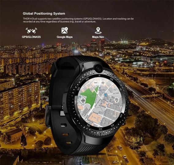 Zeblaze Thor 4 Dual,duas Cameras 4g 1gb/16gb Smartwatch A Pronta Entrega Frete Gratis