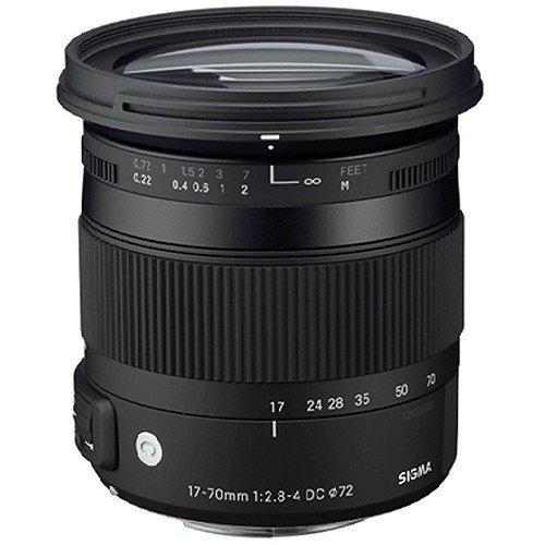Imagem 1 de 10 de Lente Sigma 17-70mm F/2.8-4 Dc Macro Os Hsm Para Canon