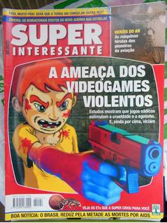 Revista Super Interessante Nº 141 Ameaça Dos Videogames 1999