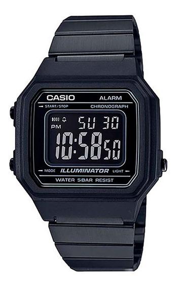 Relógio Casio Original Vintage B650wb-1bdf Com Nota Fiscal