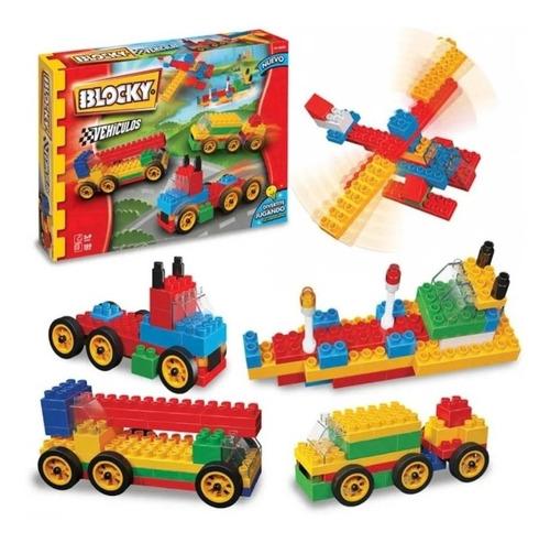 Blocky Vehiculos 140 Piezas