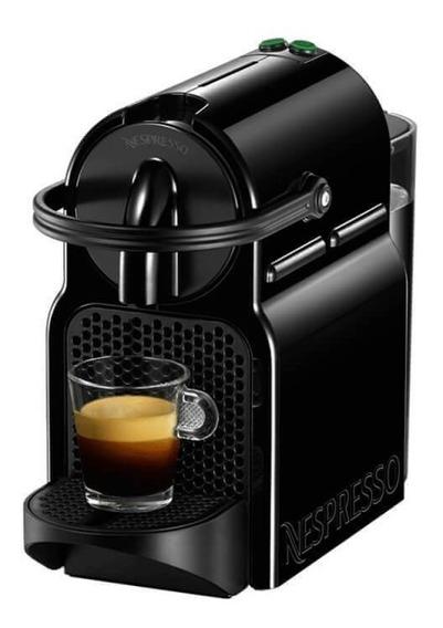 Máquina De Café Nespresso Inissia Preta 110v Com Desligam
