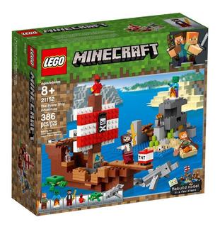 Lego® Minecraft - La Aventura Del Barco Pirata (21152)