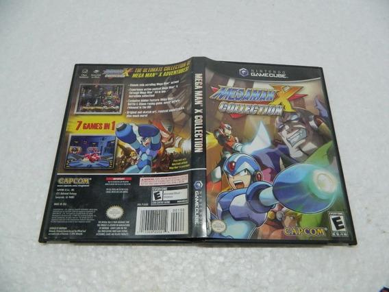 Mega Man X Collection - Original P/ Game Cube - Com A Caixa