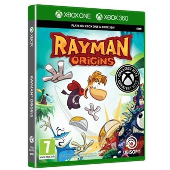 Jogo Rayman Origins Xbox 360 One Disco Fisico Português Br