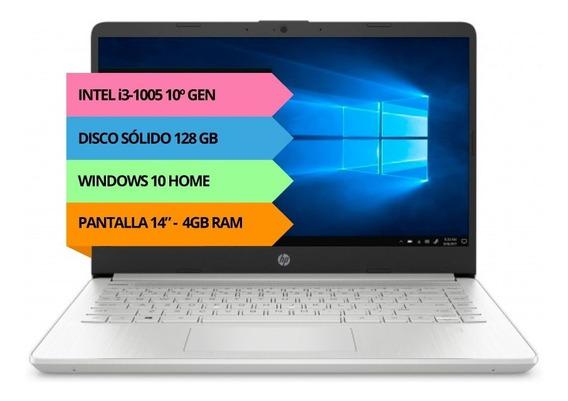 Notebook Hp I3 1005 4gb 128gb 14 Hdmi Usb Windows Pce