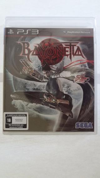 Bayonetta Playstation 3 Mídia Física - Novo E Lacrado