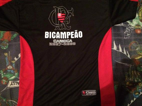 Camiseta Do Flamengo Bi-campeao Carioca