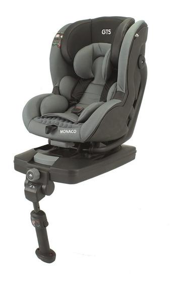 Butaca De Bebe Infantil Para Auto Monaco Gris Gts Isofix